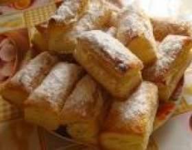 10 Кращих рецептів солодкої випічки з листкового тіста фото