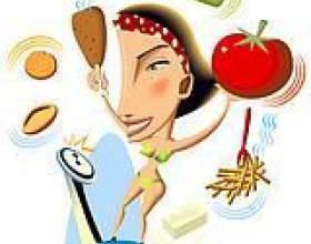 Таблиця калорійності продуктів фото