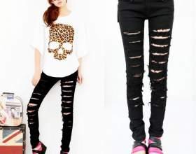 Аліекспресс (aliexpress): як замовити модні чорні і сірі чоловічі та жіночі джинси із завищеною талією, рвані, з дірками на колінах, великих розмірів, обтягуючі, завужені, скинни, американки? фото