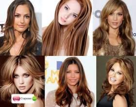 Брондірованіе темного волосся на фото - блондинка або брюнетка, а може краще два в одному фото