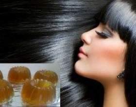 Домашнє ламінування желатином як спосіб оздоровлення волосся фото