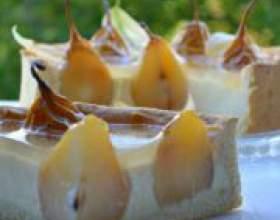 Домашня солодка випічка та десерти з груші фото