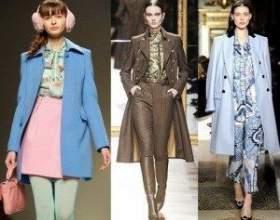 Фото трендових колекцій і відео-репортаж про модні пальта 2013 фото