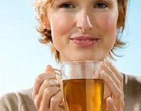 Імбир з зеленим чаєм фото