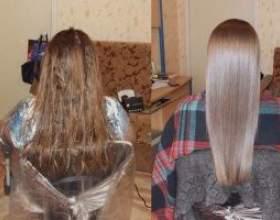 Ефективне екранування волосся в салоні і вдома за допомогою засобів від естель фото