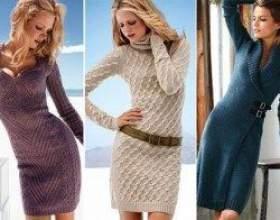 Ефектні та практичні модні сукні зимового сезону 2013 фото