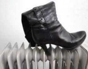 Як швидко висушити взуття? фото