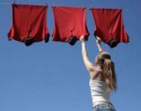 Як швидко висушити одяг після прання? фото