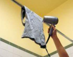Як швидко висушити одяг? фото