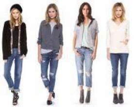Як і з чим носити джинси бойфренди? фото