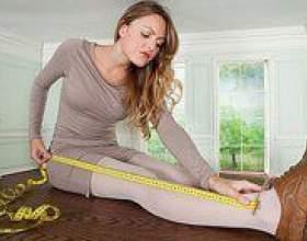 Як виміряти довжину ніг? фото