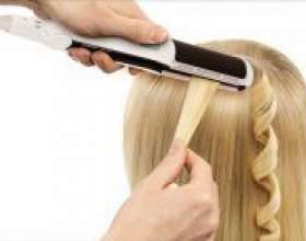 Як накрутити волосся за допомогою прасування? фото