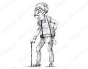 Як намалювати дідуся олівцем? фото