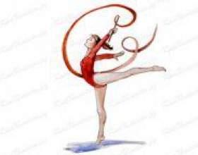 Як намалювати гімнастку? фото