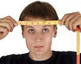 Як визначити розмір голови? фото