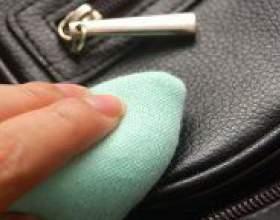 Як почистити шкіряну сумку? фото