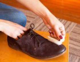 Як почистити замшеве взуття? фото
