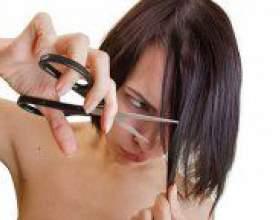 Як підстригти чубчик набік? фото
