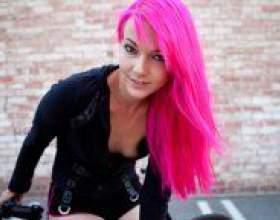 Як пофарбувати волосся в рожевий колір? фото