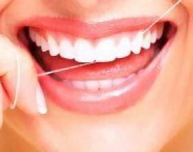 Як правильно користуватися зубною ниткою? фото