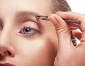 Як правильно вищипнути брови фото
