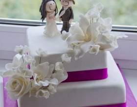 Як приготувати весільний торт в домашніх умовах - рецепт і секрети декору фото