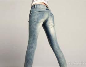 Як розтягнути джинси фото