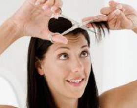 Як самій собі підстригти чубчик? фото