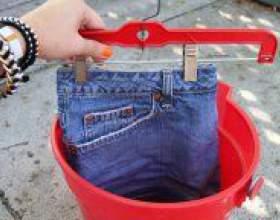 Як зробити джинси світліше? фото