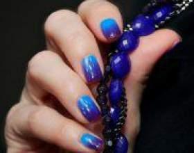 Як зробити градієнт на нігтях? фото
