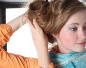 Як зробити пучок на голові? фото