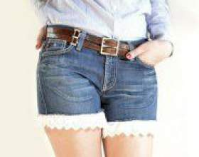 Як зробити шорти зі старих джинсів? фото