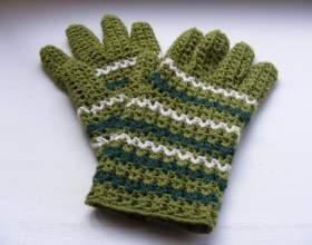 Як зв`язати жіночі, чоловічі та дитячі рукавички гачком з описом? Як зв`язати рукавички гачком для початківців: опис, відео фото