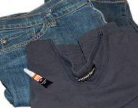 Як видалити супер клей з одягу? фото