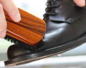 Як доглядати за шкіряним взуттям? фото