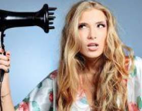 Як укладати волосся феном? фото