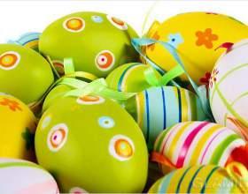 Як прикрасити яйця на великдень фото
