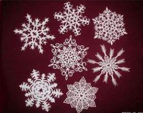 Як вирізати сніжинку. Відео як вирізати сніжинки фото