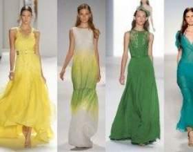 Літні сукні 2012 фото