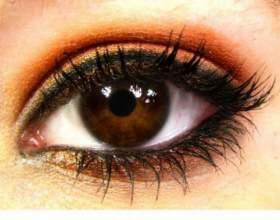 Макіяж для карих очей - підбір тіней, корисні поради фото