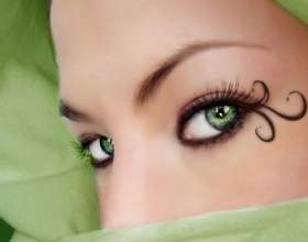 Макіяж для зелених очей - підбір тіней, корисні поради фото