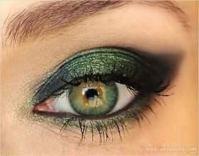 Макіяж для зелених очей фото