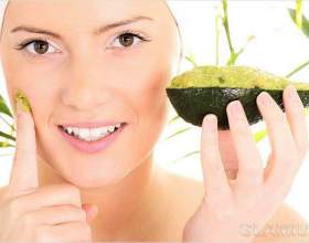 Маска з авокадо для обличчя фото