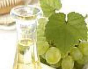 Масло виноградних кісточок: користь і застосування фото