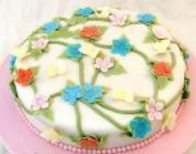 Мастика для торту - рецепти для домашнього приготування фото