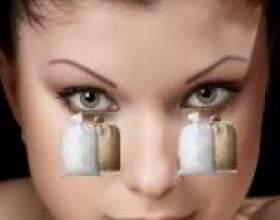 Мішки під очима: причина і способи усунення в домашніх умовах фото