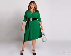 Мода для повних жінок фото