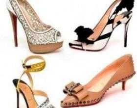 Модне взуття на літо 2011: тренди і правила вибору фото