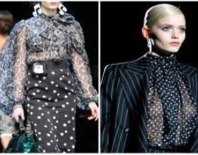 Модні блузки 2012 фото