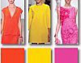 Модні кольори 2012 фото